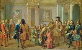 Louis XIV et les chevaliers de Saint-Louis