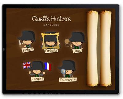 Appli napoléon Quelle Histoire