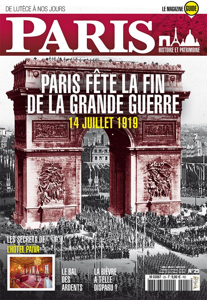 Paris de Lutèce à nos jours - magazine - numéro 25