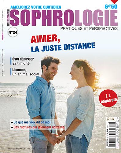 SOPHROLOGIE MAGAZINE : aimer, la juste distance